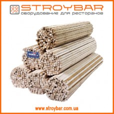 Палочки для сахарной ваты деревянные L40 1000шт