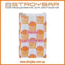 Упаковка для картошки фри (до 100гр.) 1071