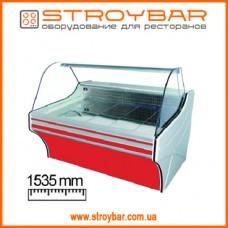 Холодильная витрина Cold VIGO 15 (w-15sg-w)