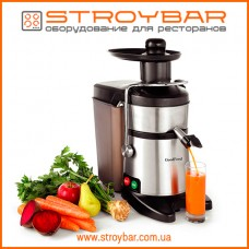 Соковыжималка электрическая для твердых овощей и фруктов GoodFood FJ200