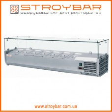 Витрина холодильная для топпинга FROSTY  VRX1600/330