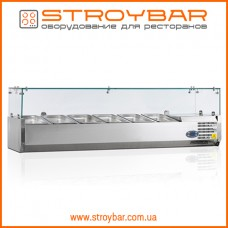 Холодильная витрина для топингов Tefcold VK38-150