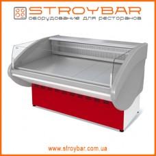 Витрина холодильная среднетемпературная открытая  ВХСо-1,2 Илеть