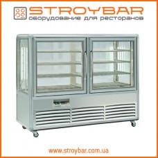Витрина холодильная Tecfrigo KUBO 500 G (silver)